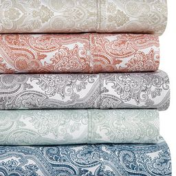 Caprice Paisley 4-Pc Sheet Sets, 350 Thread Count, Created for Macy's   Macys (US)