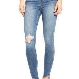Decon Raw Edge High Waist Skinny Jeans | Nordstrom