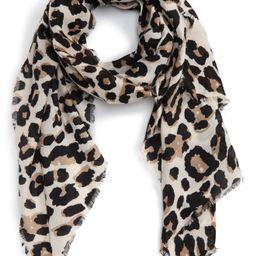 Leopard Print Scarf   Nordstrom