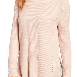 Rib Knit Cotton Tunic | Nordstrom