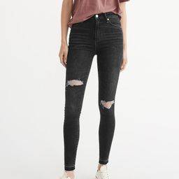 High-Rise Super Skinny Jeans   Abercrombie & Fitch US & UK