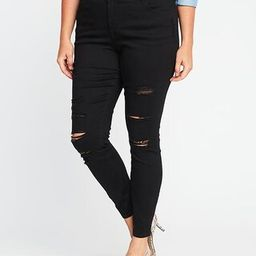 Smooth & Slim High-Rise Plus-Size Rockstar Jeans | Old Navy US