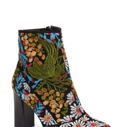 Jess Embroidered Bootie | Nordstrom