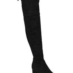 Over The Knee Block Heel Boots | TJ Maxx