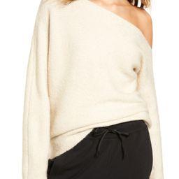 One-Shoulder Ribbed Sweater | Nordstrom