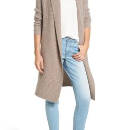 Long Ribbed Cashmere Cardigan | Nordstrom